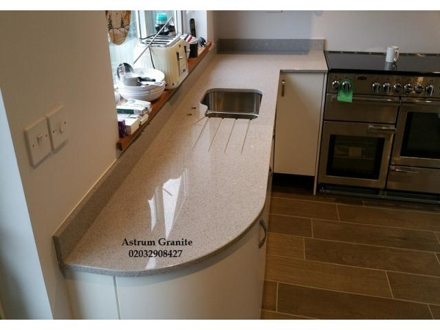 Buy Crema Quartz Worktop for Your Kitchen & Home ~p~ 02032908427