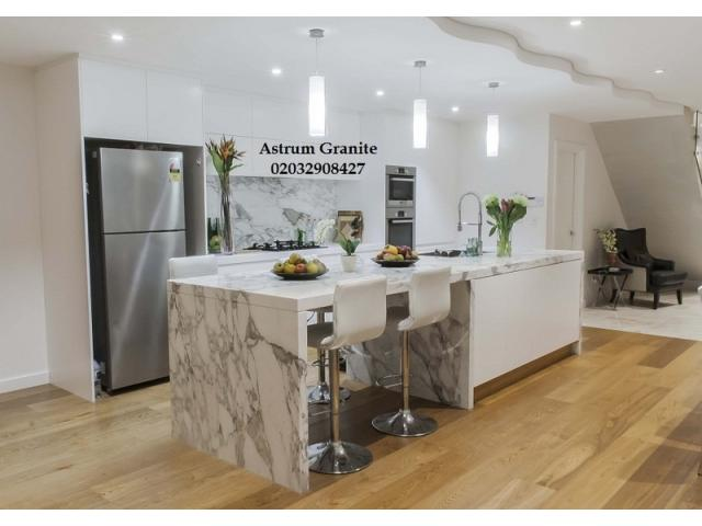 Buy Arabescato Corchia Marble Worktop for Kitchen
